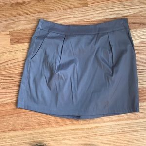 Bow back satin skirt size Small NWT